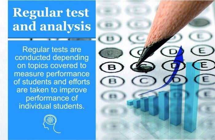 We Conduct regular test and analysis