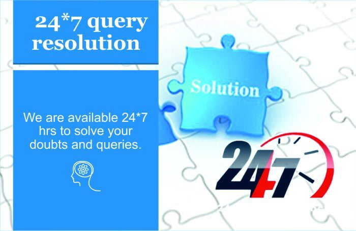 At COEPians academy, we available for 24*7 query resolution